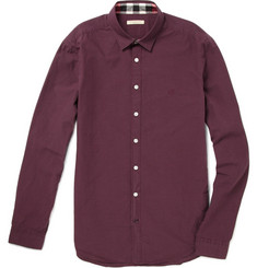 Burberry Brit Fine Check Cotton Shirt