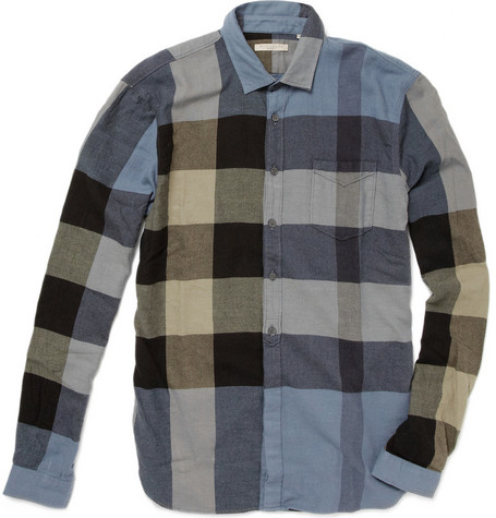 Burberry Brit Washed Cotton Check Shirt