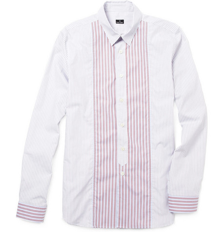 PS by Paul Smith Contrasting Stripe Cotton Shirt