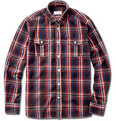 Maison Kitsuné Plaid Flannel Shirt