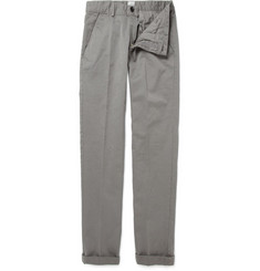 B Store Cropped Cotton Chinos