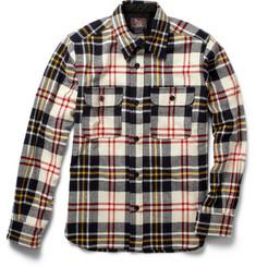 Woolrich Woolen Mills Plaid Wool Shirt