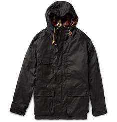 Woolrich Woolen Mills Waxed Cotton Parka Jacket