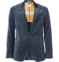 Gant Rugger Corduroy Blazer with Elbow Patches