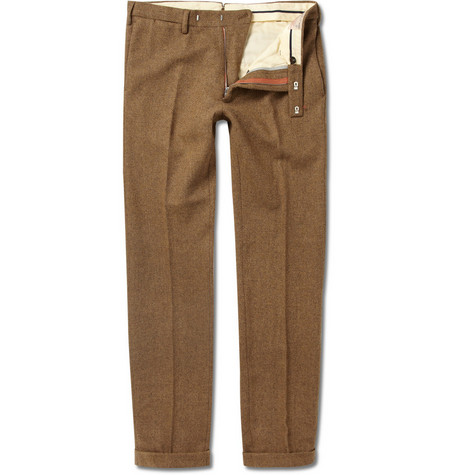 Gant Rugger Herringbone Tweed Suit Trousers