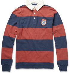 Gant Rugger Striped Cotton Rugby Top