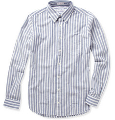Gant Rugger Striped Button Down Oxford Shirt