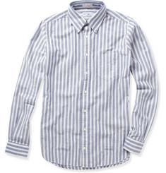 Gant Rugger Striped Button Down Oxford Shirt