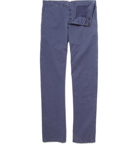 Band of Outsiders Straight Cotton Chinos