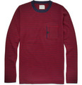 Band of Outsiders Crew Neck Striped Sweater
