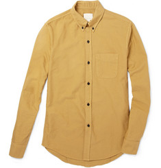 Band of Outsiders Contrast Button Cotton Shirt