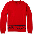 Monsieur Lacenaire - Merino Wool Reindeer Sweater