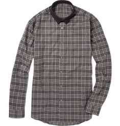 John Varvatos Check Cotton Shirt