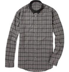 John Varvatos Check Cotton Shirt