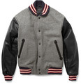 Rag & bone - Wool-Blend Varsity Jacket
