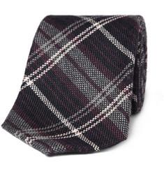 Gucci Cashmere Plaid Tie