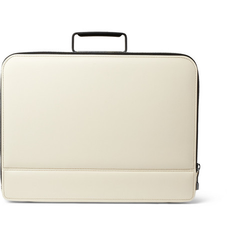 Valextra Premier Leather Briefcase