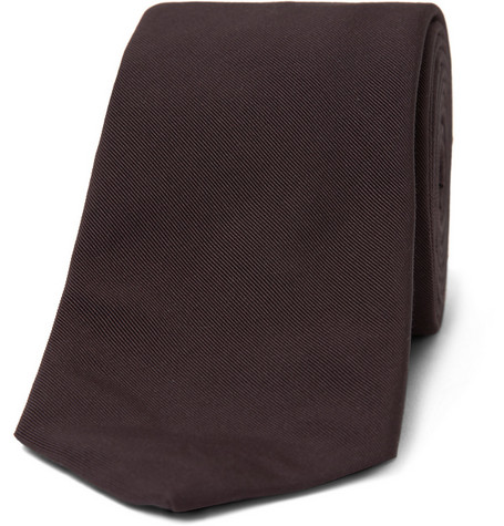 Lanvin Cotton and Silk-Blend Tie