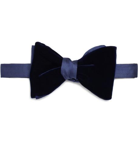 LanvinDouble Bow Tie