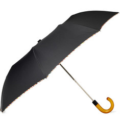 Paul Smith Shoes & Accessories Multi Stripe Trim Umbrella