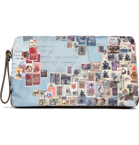 Paul Smith Shoes & Accessories Stamp Print Wash Bag