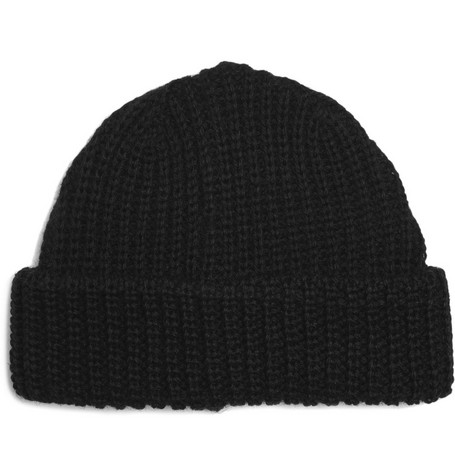 Paul Smith Shoes & Accessories Ribbed Wool Beanie Hat