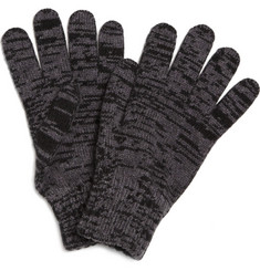 Paul Smith Shoes & Accessories Space Dye Wool Gloves