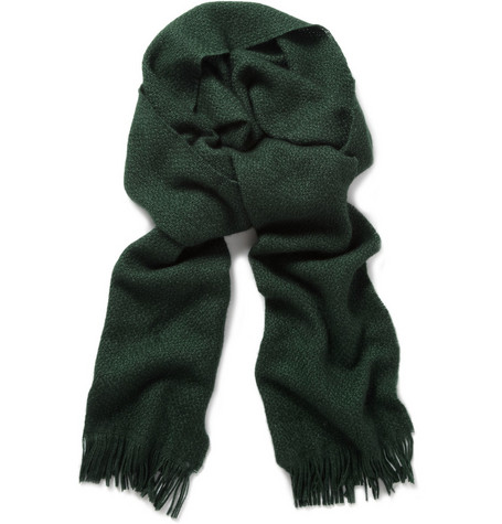 Paul Smith Shoes & Accessories Woven Cashmere-Blend Scarf