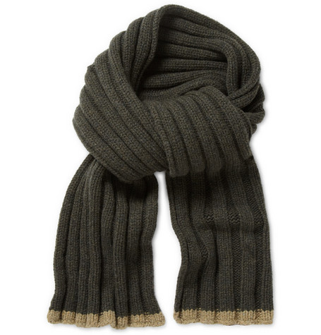 Margaret Howell MHL Chunky Wool Scarf