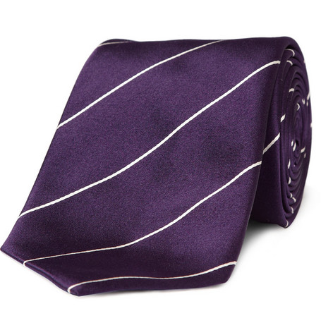 Richard James Silk Striped Tie