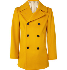 E. Tautz Doeskin Wool Peacoat