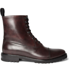 Harrys of London Jasper Lace-Up Leather Boots