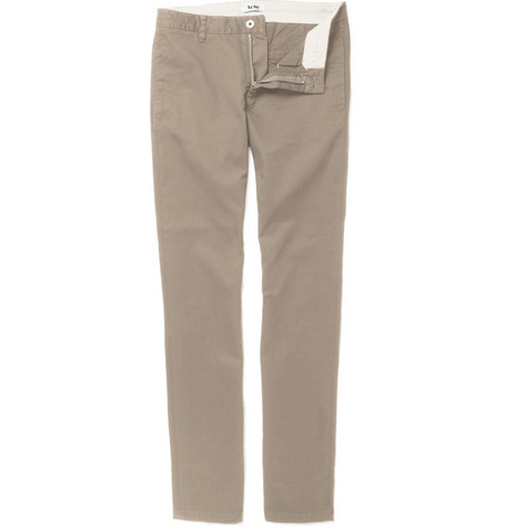 Acne Roc Slim-Fit Cotton-Blend Chinos