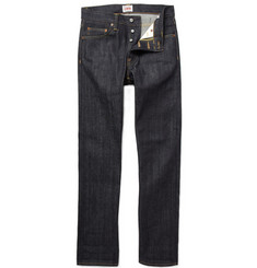 Edwin ED39 Straight-Leg Raw Selvedge Jeans