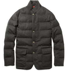 Loro Piana Storm System® Virgin Wool and Cashmere-Blend Down Jacket