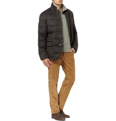 Loro Piana Storm System Virgin Wool and Cashmere-Blend Down Jacket