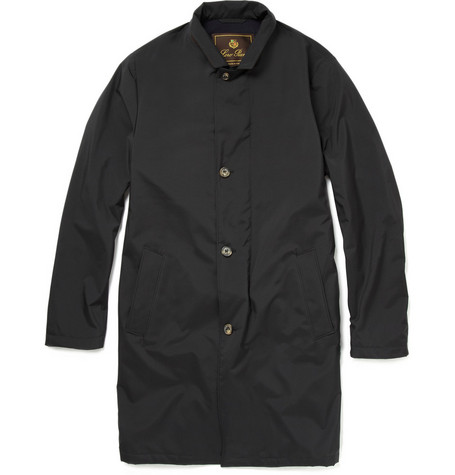 Loro Piana Storm System Cashmere-Lined Raincoat