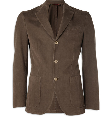 Loro Piana Unstructured Cotton-Blend Twill Jacket