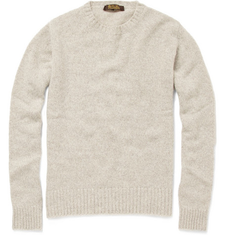 Loro Piana Crew Neck Baby Cashmere Sweater