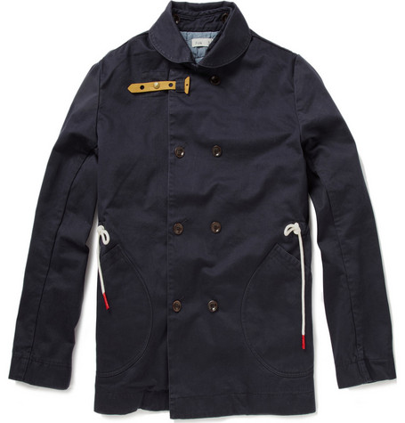 Folk Cotton Canvas Jacket