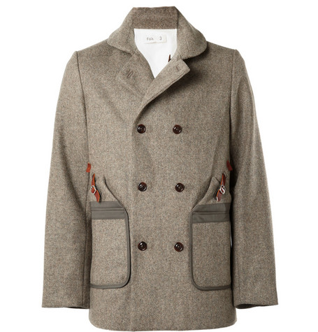 Folk Heavyweight Wool Coat
