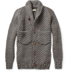 Folk Chunky Knit Wool Cardigan