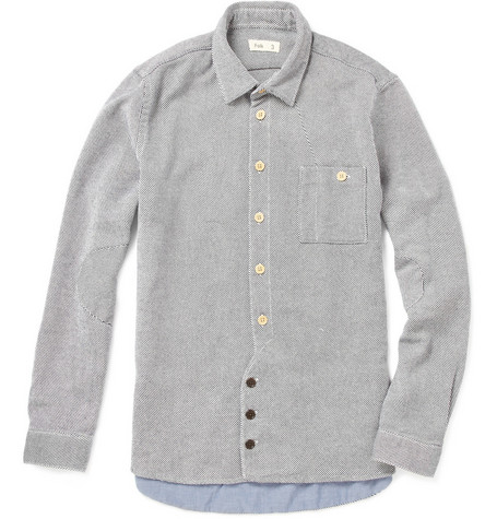 Folk Vangelis Heavyweight Cotton Twill Shirt