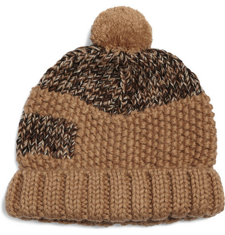Folk Ruck Panelled Bobble Hat