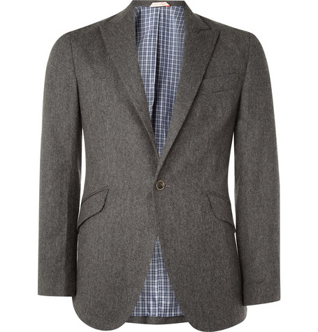 Oliver Spencer One Button Blazer
