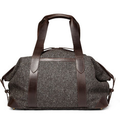 Cherchbi Tweed Wool Holdall Bag