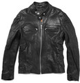 Jean Shop Fitted Leather Jacket