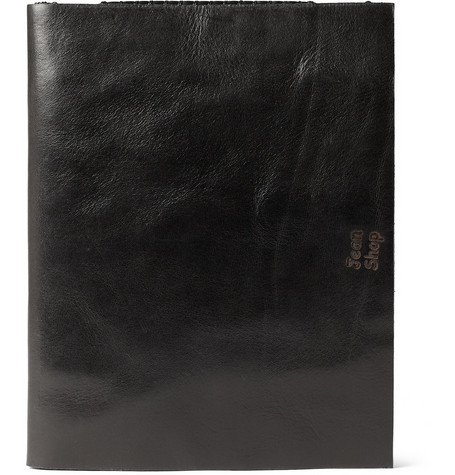 Jean Shop Leather iPad Case