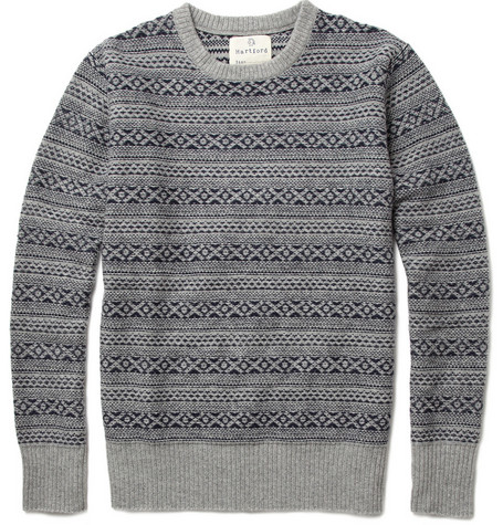Hartford Reversible Fair Isle Sweater