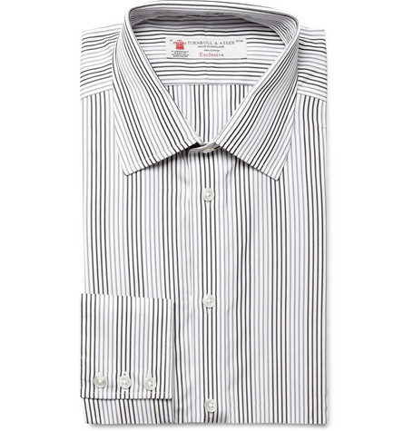 Turnbull & Asser Striped Cotton Shirt